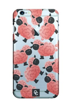 Casey Crazy - Sheeps Semi-Transparent Hard Case for iPhone 6