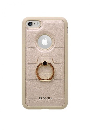 BAVIN gold Mobile Leather Cover with Ring Holder Stand for iPhone7 A7E8DACDE31E47GS_1