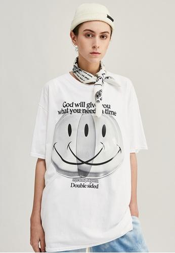 Twenty Eight Shoes Trend Printed Short T-Shirts 1208S20 5D403AA8AF84D8GS_1