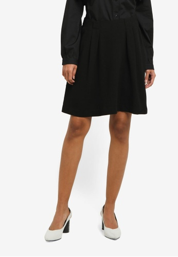 Vero Moda black Mini Skirt VE975AA0RRIJMY_1