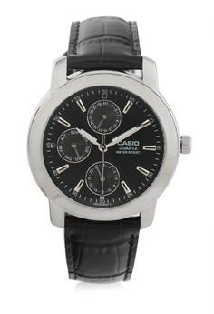 harga Casio Round Watch Man Analog Mtp-1192E-1A Zalora.co.id