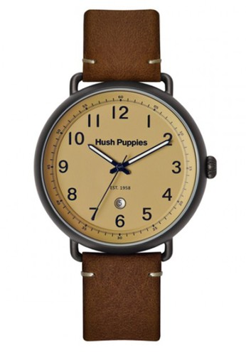 Hush Puppies Watches brown Hush Puppies Men's Watches HP 3845M.2519 Leather Strap A7E8CACF0381C9GS_1