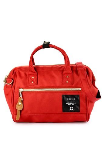 Anello orange and multi Mini Boston Bag AN804AC0W5OYID_1