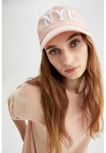 DeFacto pink Woman Hat A235DAC929FD3AGS_1
