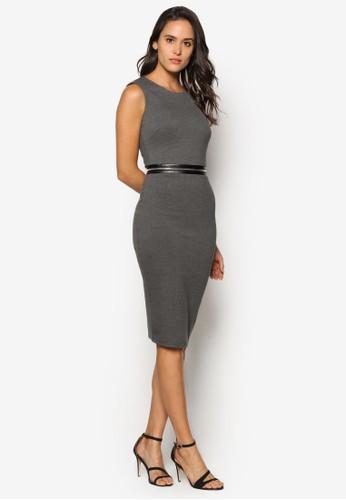 簡約拉鍊及膝洋裝, 服飾esprit旗艦店, 洋裝