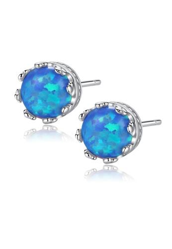 SUNRAIS silver High quality Silver S925 silver round earrings 2266DACF8ED111GS_1