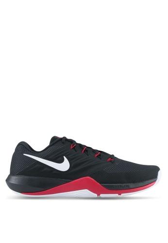 Nike black and red Men's Nike Lunar Prime Iron II Training Shoes NI126SH0STRAMY_1