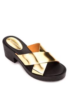 Heeled Slides