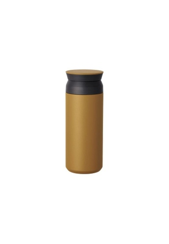 KINTO brown Kinto Insulated Travel Tumbler Water Bottle 500ML Coyote D0552AC24AD895GS_1