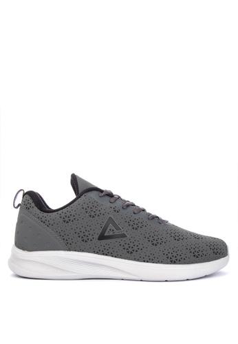 PEAK grey E74117H Men's Running  Sports Sneakers 5FD18SHCAF2776GS_1