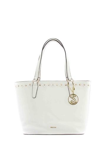 SEMBONIA white SEMBONIA Synthetic Leather Tote Bag (White) SE598AC0S8PGMY_1