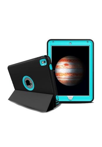 "MobileHub black and blue iPad Pro (9.7"") Extreme Hybrid Shockproof Case 7C87BAC2635CD4GS_1"