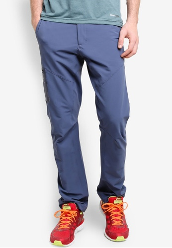 Salomon blue Wayfarer Utility Pants SA438AA89WEOMY_1