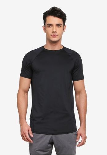 Under Armour black and green Raid 2.0 T-Shirt UN337AA0SU5SMY_1
