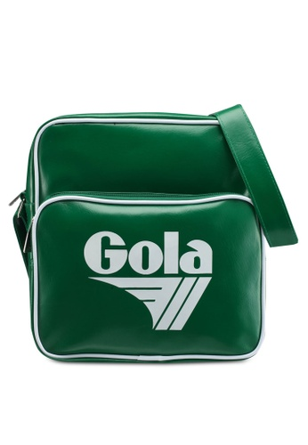 Gola white and green Gable Bag 1EAC8AC1D08CD4GS_1