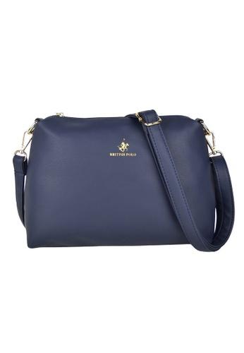 British Polo blue British Polo New Simply Sling Bag 54B04ACA00F364GS_1
