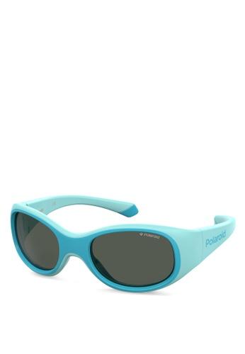Polaroid Kids blue PLD 8038/S Sunglasses 0B6F1KCC0698FAGS_1