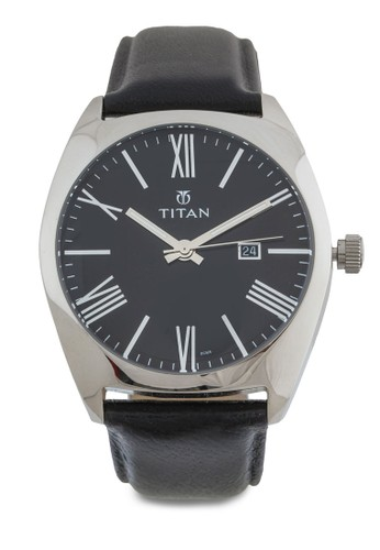 羅馬數字不銹鋼皮esprit品牌介绍革錶, 錶類, 皮革錶帶