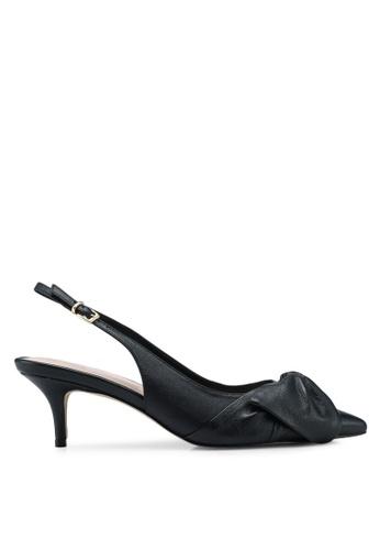 ALDO black Davangus Slingback Heels 58D12SH43C49DBGS_1