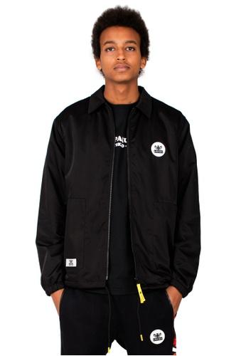 Reoparudo 黑色 RPD 年度限量版迷彩印花教練外套 (黑色) 6B856AAA01D315GS_1