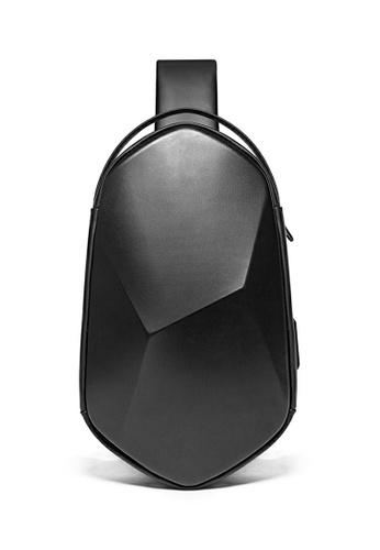 Twenty Eight Shoes black Polyhedral Functional Chest Bag X TC7213 19A05ACF57CF14GS_1