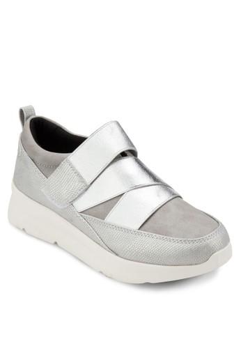 金屬感彈性厚底運esprit tote bag動鞋, 女鞋, 鞋