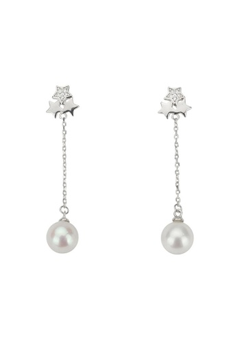 Pearly Lustre silver Pearly Lustre New Yorker Freshwater Pearl Earrings WE00063 8B488ACC4661BDGS_1