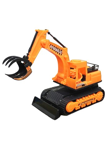figoltoys Mainan Mobil Konstruksi Excavator Lampu Musik Jalan Putar SNI Ready Stock Robot Excavator 804E2TH472503EGS_1