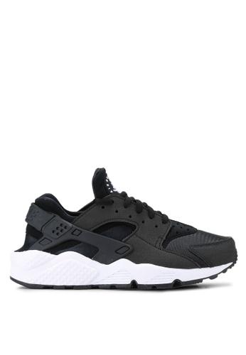 Nike black Nike Air Huarache Run Shoes NI126SH09EPYMY_1
