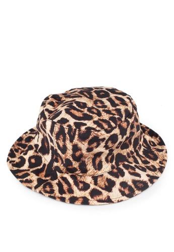 Mango beige Leopard Hat CD47DACB01FBBEGS 1 1cbf7cbcd9c