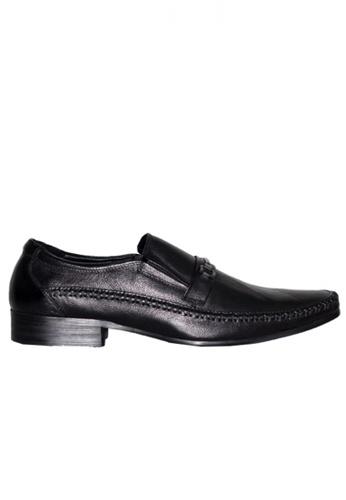 Gino Mariani black Gino Mariani Men's Leather Shoes DENVER  - BLACK 5E2B0SH29F27B2GS_1