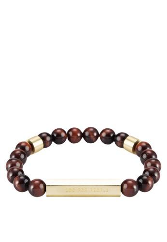 Rokk 串珠金屬esprit 寢具條手鍊, 飾品配件, 手環