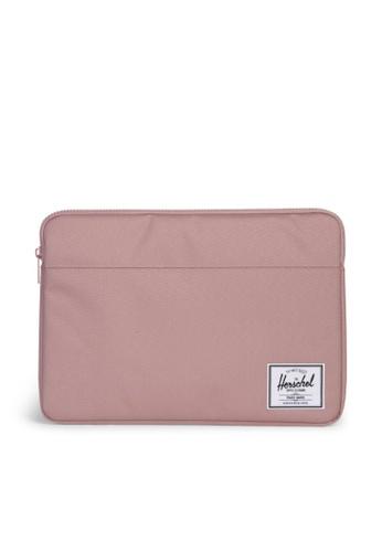 """Herschel pink Herschel Anchor Sleeve MacBook Pro 15"""" (all) Ash Rose A763EAC4ADD1E7GS_1"""