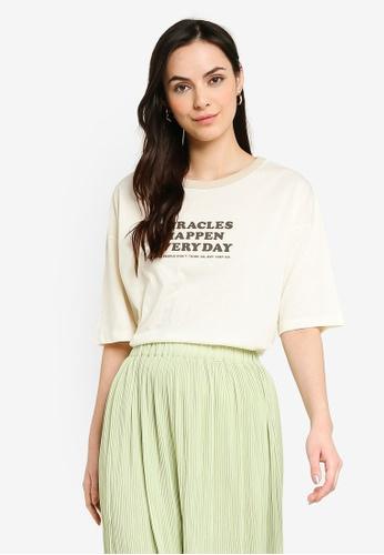 niko and ... white Printed T-Shirt C4CF6AA6C33FA5GS_1