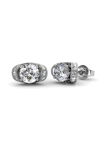 Her Jewellery silver Her Jewellery Eve Earrings (White Gold) with 18K Gold Plated E9FF8AC27CE999GS_1