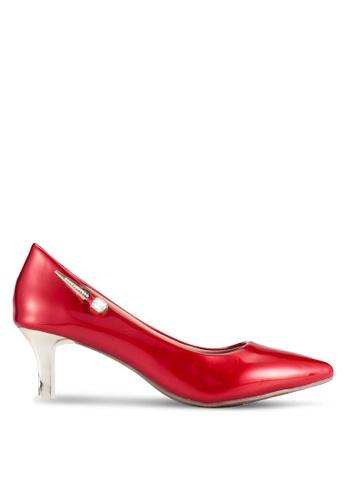 Alfio Raldo red Pointed Toe Heels AL803SH0R9P7MY_1