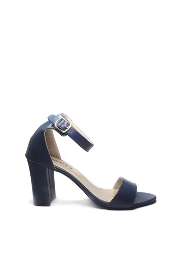 Beauty Shoes navy Beauty Shoes 1092 Heels Blue D92ABSH25F6247GS_1