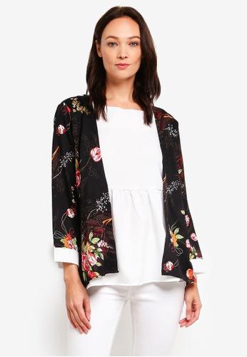 d3dede074bea Buy BYN Floral Printed Kimono Top Online on ZALORA Singapore