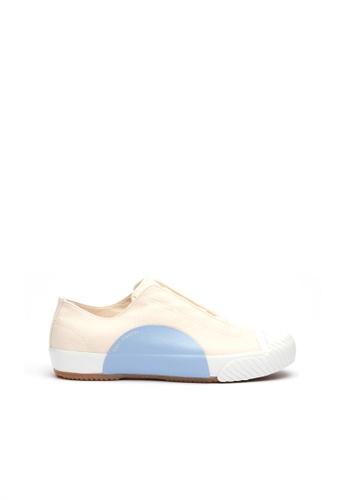 Royal Elastics 藍色 and 米褐色 New York帆布休閒鞋  5969ASHDFE00E5GS_1