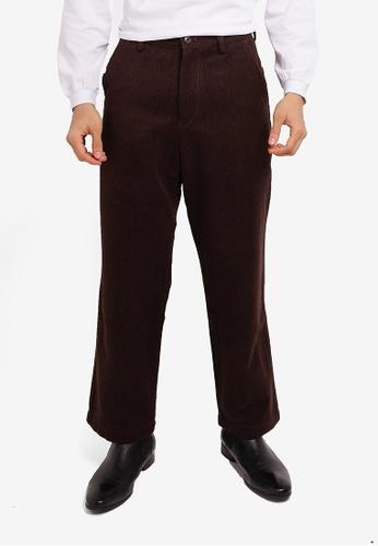 niko and ... brown Casual Pants BF1A9AABD3BA1DGS_1