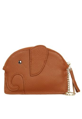 HAPPY FRIDAYS Zipper Leather Mini Wallet JN2161 30BEDACED9EBABGS_1