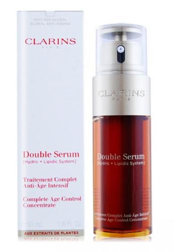 Clarins Clarins Double Serum (Hydric + Lipidic) Complete Age Control Concentrate 50ml 68E29BE735C0E3GS_1