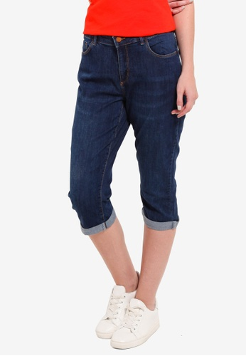 LC Waikiki blue Super-Slim Capri Jeans 77186AA23E9D0EGS_1