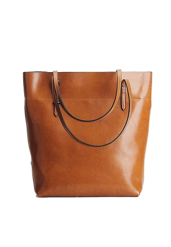 Twenty Eight Shoes brown VANSA Cow Leather Hand Bag VBW-Tb8825 42124ACDAE665EGS_1