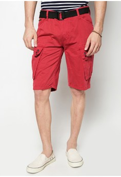 Col. Cargo Shorts w/ Belt
