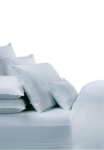 Grand Atelier green Coral Suite Essentials Bolstercase 100% Egyptian Cotton Sateen 1000TC. 1E092HLEF9246FGS_1