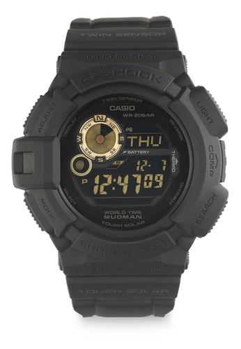 Casio black Casio G-SHOCK Jam Tangan Pria - Black - Resin - G-9300GB-1DR 8121DACE76D27FGS_1