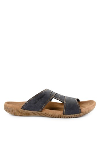 Hush Puppies multi and navy Mutt Slide 398F4SH931EDD1GS_1