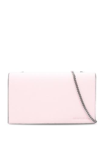 Calvin Klein pink Wallet With Chain - Calvin Klein Jeans Accessories 35D59ACD9165F9GS_1