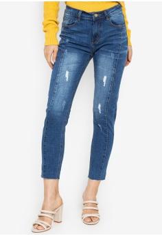 b1694b42c7f21 Kamiseta blue Magnificent Five Pocket Semi Skinny Jeans 3C777AA41C626BGS_1